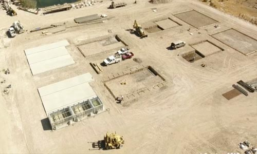 OME breaks ground at Wabuska site