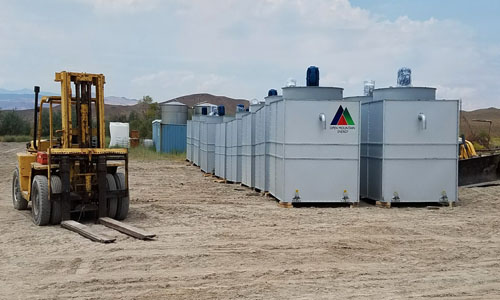 OME Geothermal Equipment Arrives