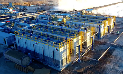 Commissioning of All Four Power Units